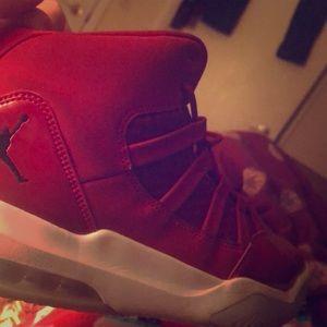 Red Jordan's
